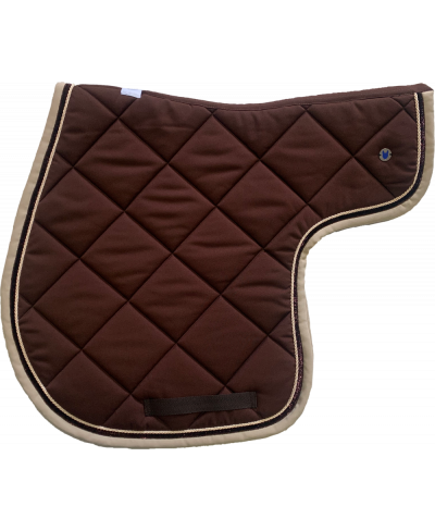 Outdoor Adventures Honey Satin Pony Tapis de selle d/équitation en tissu de luxe respirant avec 3 couleurs disponibles Rose Rose Rose Dusty Lilac Blue Gaze