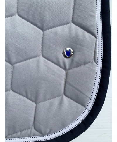tapis bleu chin argent marine - Tapis Bleu Marine